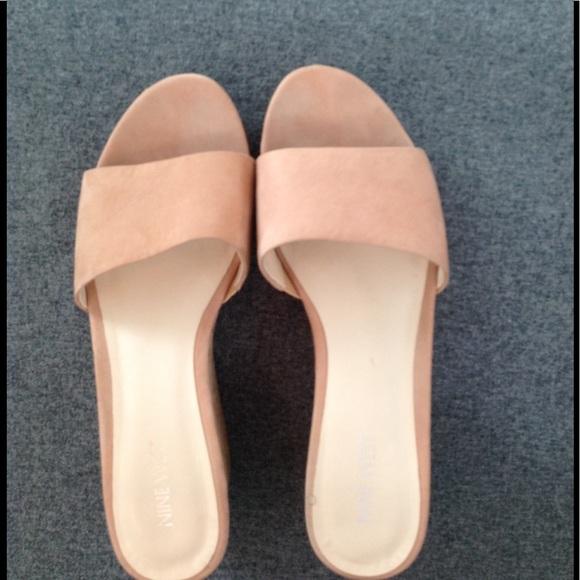 7facf3a6e8c Nine West Confetty Platform Wedge Sandals. M 5ab6da703800c59b8d7d9eb0